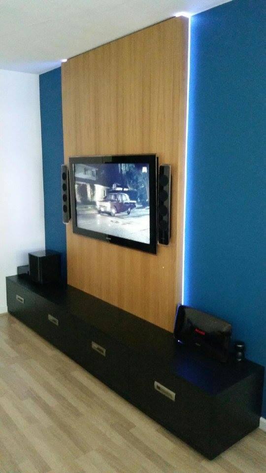 meuble tv bois sur mesure