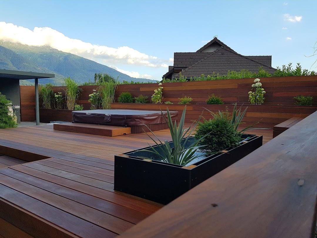 Terrasse extérieur - jardiniéres 2